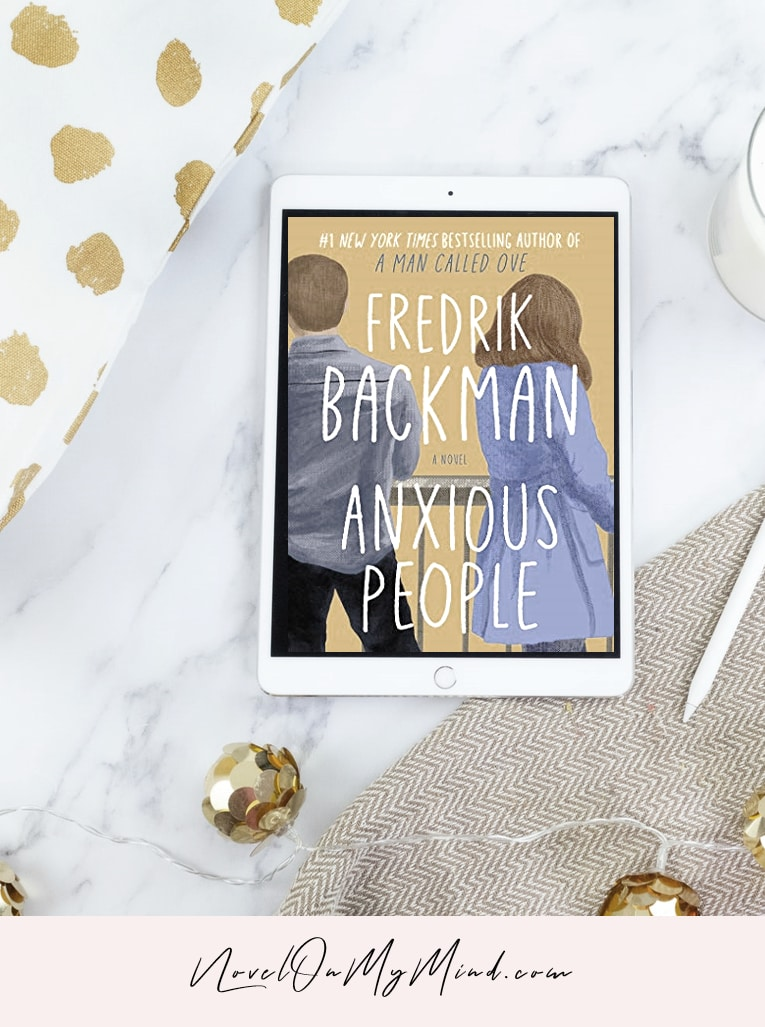 An ebook edition of Fredrik Backman's book Anxious People