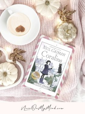 Coraline by Neil Gaiman Book Review Cover