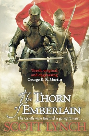 One of the best 2021 book releases - The Thorn of Emberlain by Scott Lynch