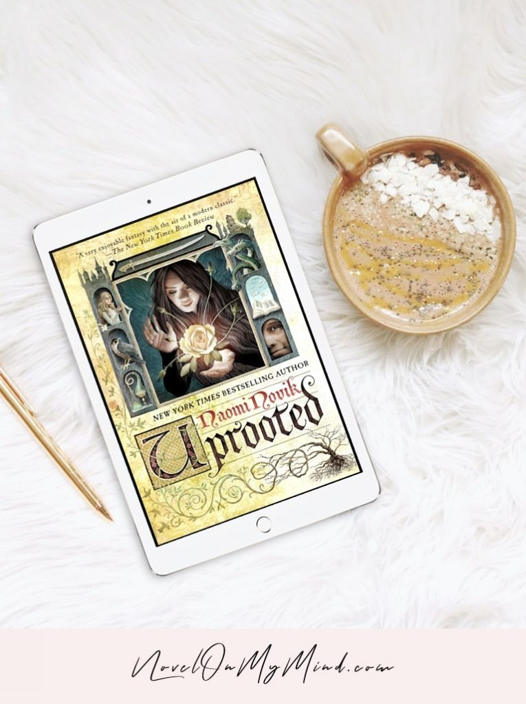 The cover of the book Uprooted by Naomi Novik