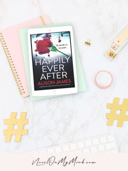 A book cover for Happily Ever After by Alison James