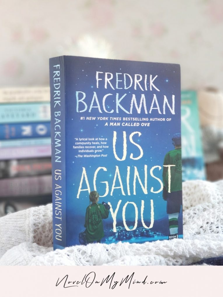 A photo of the book Us Against You (Beartown #2) by Fredrik Backman