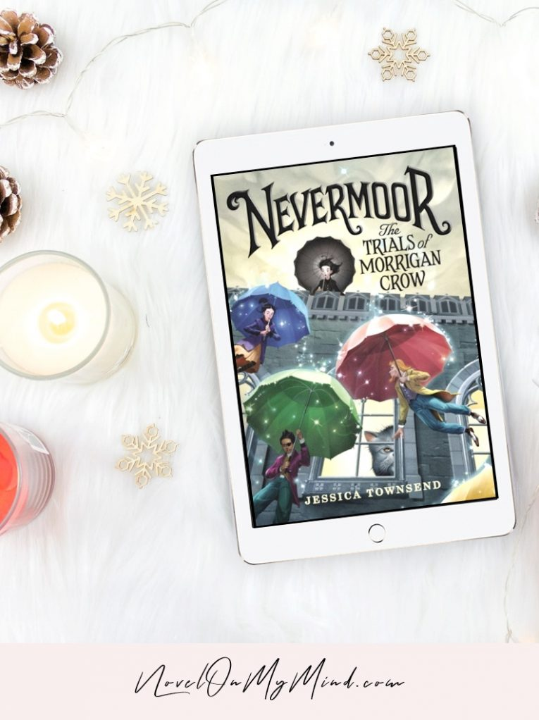 Nevermoor #1: The Trials of Morrigan Crow by Jessica Townsend – Book Cover