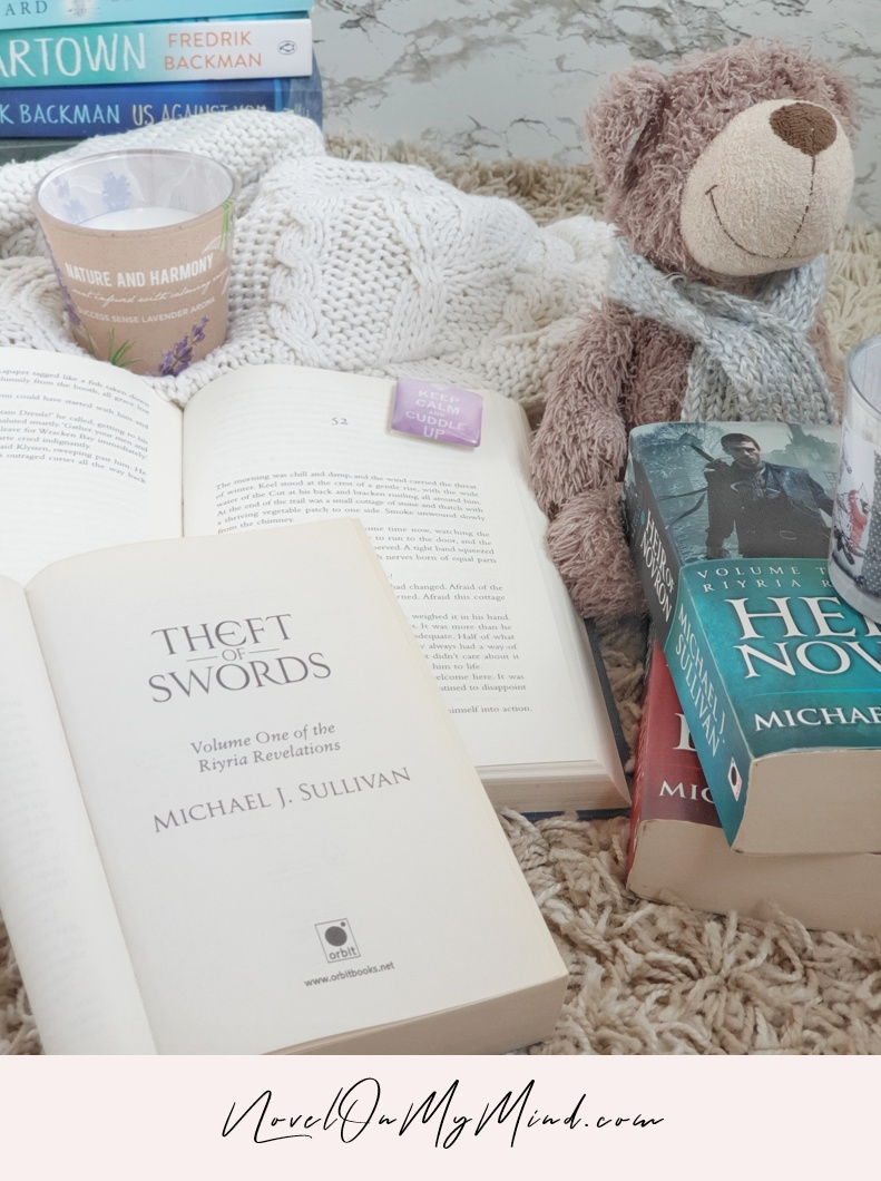 A photo of the book #1 in the The Riyria Revelations, Theft of Swords by Michael J. Sullivan