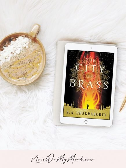 The City of Brass by S.A. Chakraborty– Book Cover