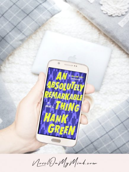 A Book Cover for An Absolutely Remarkable Thing by Hank Green